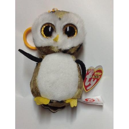 269f300983d Ty Inc. Beanie Boo Plush Stuffed Animal Owliver the Camouflage Owl Bag Clip  3