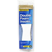 GoodSense® Women's Double Foam Insoles One Size Case Pack 48