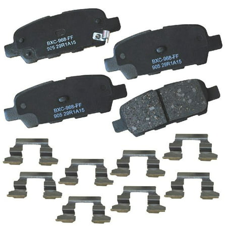 Fx35 Base (Go-Parts OE Replacement for 2003-2008 Infiniti FX35 Rear Disc Brake Pad Set for Infiniti FX35 (Base /)