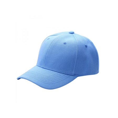 7c130df6 Sweetsmile Men Women Unisex Plain Baseball Cap Hip-Hop Adjustable Peaked  Hat Visor Caps - Walmart.com