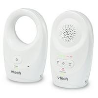 VTech DM1111, Enhanced Range Digital Audio Baby Monitor, 1 Parent Unit, White