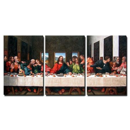"wall26 - Last Supper by Andrea Solari - Canvas Art Wall Decor - 16""x24"" inches"