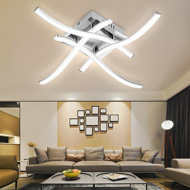 Modern Led Ceiling Lights Mount Pendant Lamps Chandelier Fixtures For Home Kitchen Bathroom Bedroom Living Room Lighting 16x6 Inch Walmart Com Walmart Com