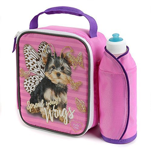 """Puppy Butterfly """"Spread Your Wings"""" Lunch Box with Water ..."""