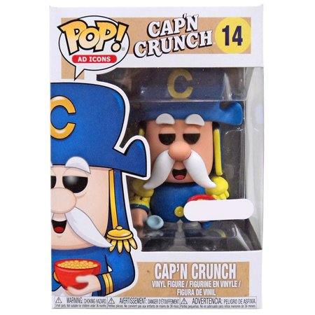 Quaker Oats Funko POP! Ad Icons Cap'n Crunch Vinyl Figure
