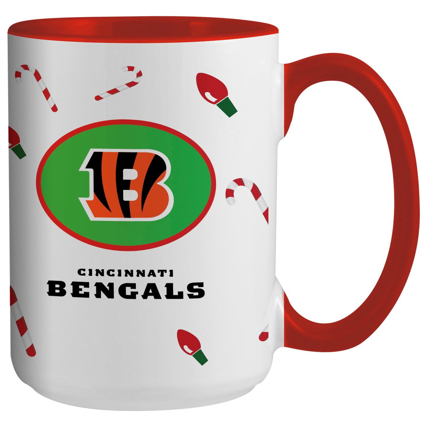 Cincinnati Bengals 15oz. Holiday Mug - No Size