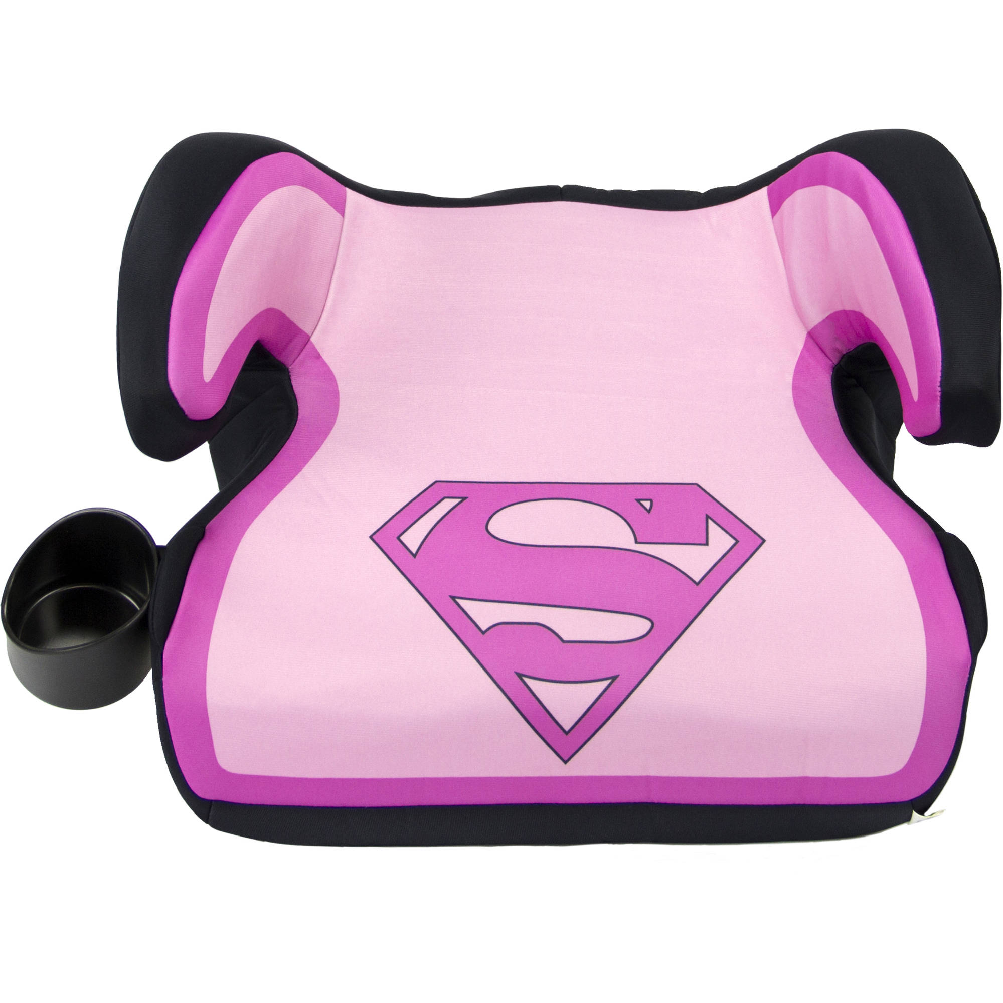 KidsEmbrace Fun-Ride Backless Booster Car Seat, Supergirl