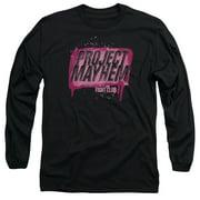 Fight Club Project Mayhem Long Sleeve Shirt Adult