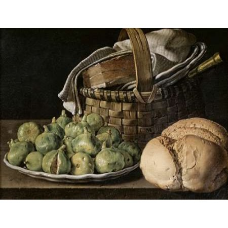 Still Life With Figs Poster Print by  Luis Egidio Melendez