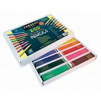 Sargent Art Colored Pencils, Assortment, 10 colors, 250 ct