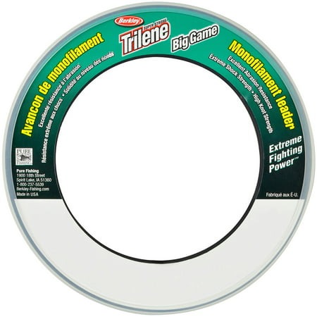 Berkley Trilene Big Game Monofilament Fishing Leader