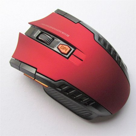 Mini Wireless Optical Gaming Mouse Mice& USB Receiver For PC Laptop 2.4Ghz 800-1200-2000