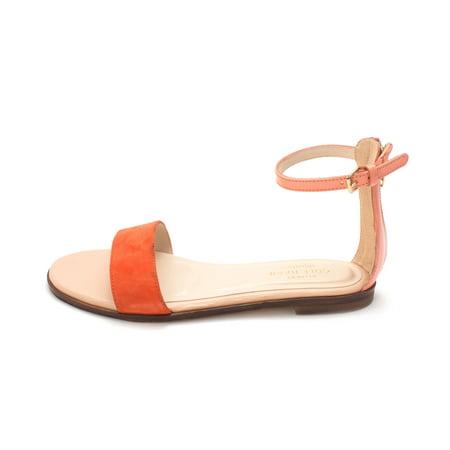 57ac0dd4bacd Cole Haan - Cole Haan Womens Feminie Flat Sandal Ii Open Toe Casual Ankle  Strap Sandals - Walmart.com