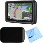Bundle dezl 570LMT 5 Truck GPS Navigation Lifetime Map/Traffic Updates Case Bundle