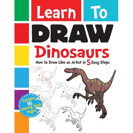 Learn to Draw Dinosaurs : How to Draw Like an Artist in 5 Easy Steps](Easy Stuff To Draw For Halloween)