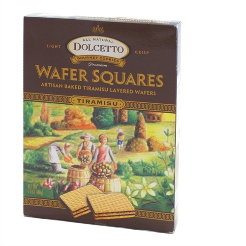 Dolcetto Wafers, Tiramisu, 6.3 oz Box