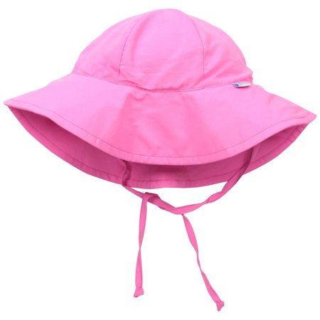 Solid Brim Sun Protection Hat - Light Blue, Newborn
