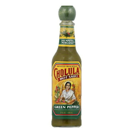 Rtu Hot Pepper - (2 Pack) CHOLULA HOT SAUCE GREEN PEPPER