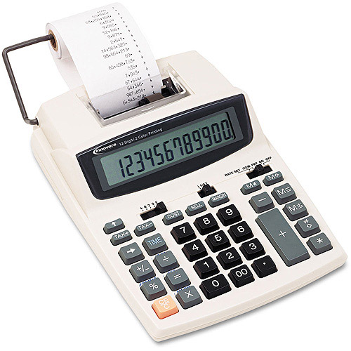 Innovera 16015 Desktop Calculator, 12-Digit, LCD