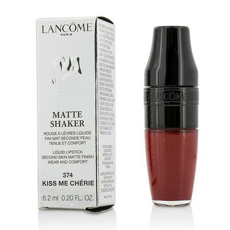 Matte Shaker Liquid Lipstick - # 374 Kiss Me Cherie-6.2ml/0.2oz