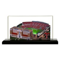 """Texas Tech Red Raiders 9"""" x 4"""" Light Up Stadium with Display Case"""