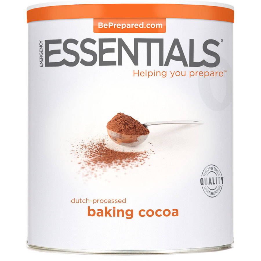Click here to buy Emergency Essentials Dutch-Processed Baking Cocoa, 38 oz by Emergency Essentials.