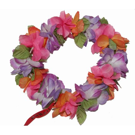 #18 Purple /orange/ pink, Haku Lei