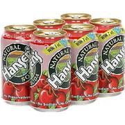 Hansen's Natural Cherry Vanilla Creme Soda, 6ct (Pack of 4)