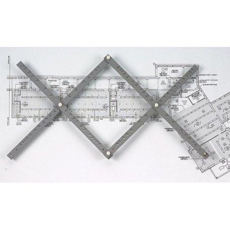 "Alvin 24"" Wood Pantograph"