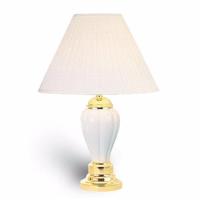 Benzara BM141719 Traditional Style Table Lamp - Set of 6, Ivory - image 1 de 1