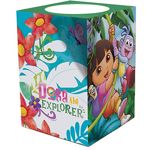 Dora the Explorer Square Flameless Candle Night Light by
