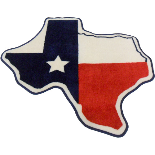 "Mainstays Texas Bath Rug, 1'2"" x 11"""