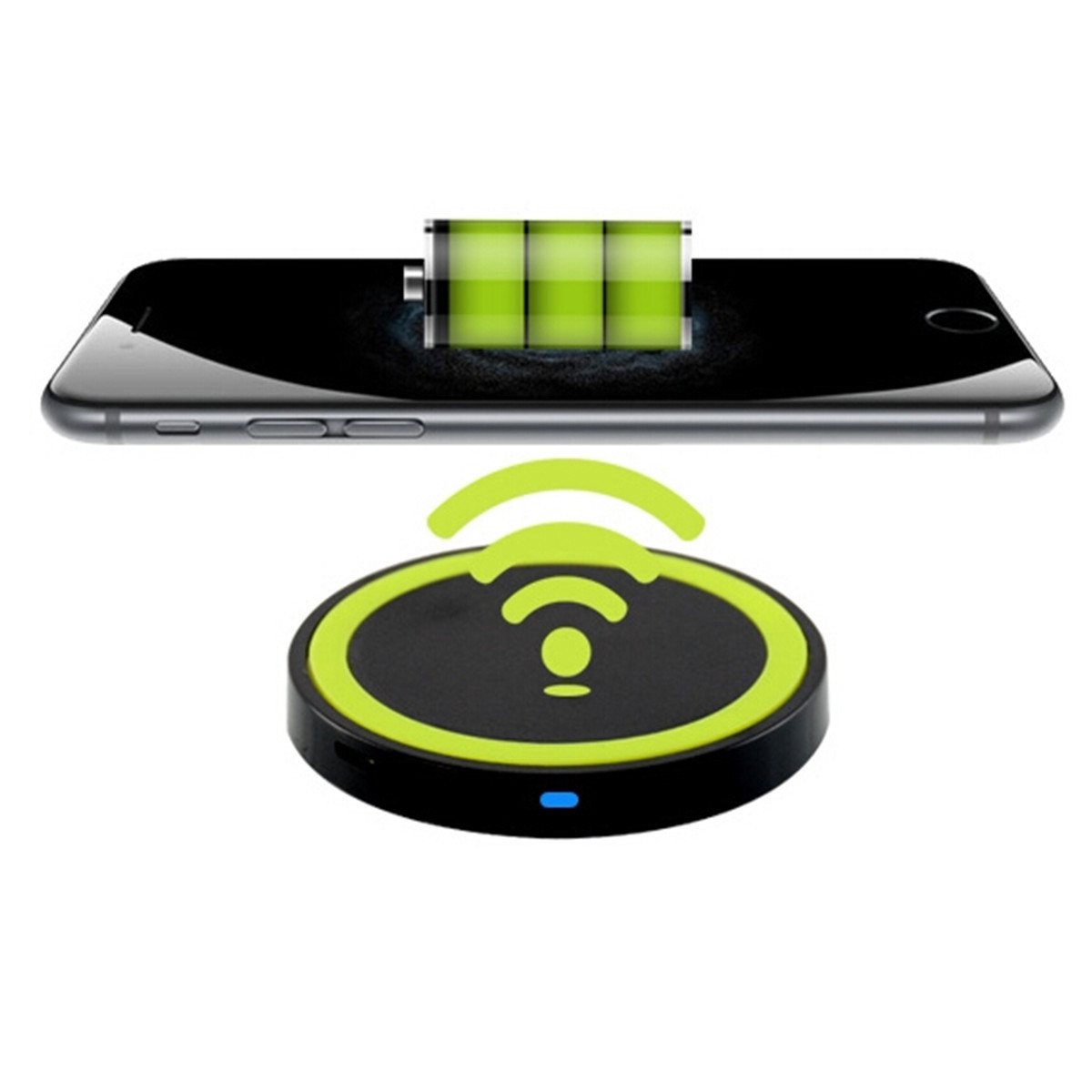 Slim QI Wireless wireless charger pad Charging Charger Pad Mat For Smartphones Android Phone and all Qi-Enabled Devices