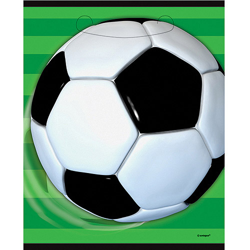 Soccer Party Favor Bags, 8pk