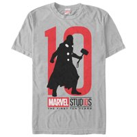 Marvel Men's 10 Anniversary Thor T-Shirt