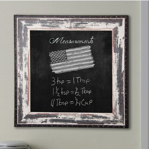 Rayne Mirrors Rustic Seaside Wall Mounted Chalkboard