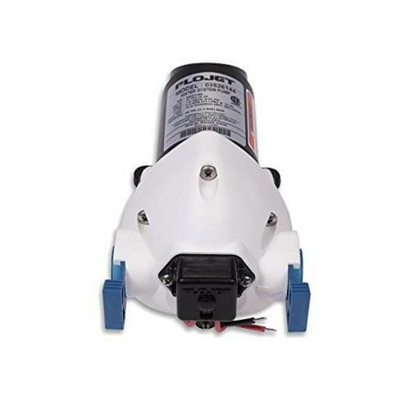 Flojet 03526-144A Triplex Diaphragm Automatic Water System Pump, 2.9 GPM 50 PSI, 12 volt DC