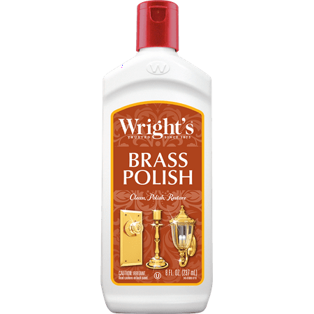 (Wright's Brass Polish, 8 Oz)