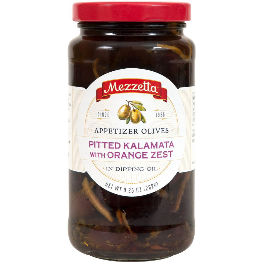Mezzetta Pitted Kalamata Appetizer Olives with Orange Zest in Dipping Oil, 9.25 oz, (Pack... by G.L. Mezzetta Inc.