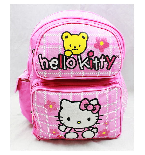 Small Backpack Hello Kitty Teddy Bear New School Bag Book Girls 81603 by FAB Starpoint