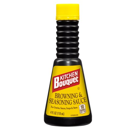 Kitchen Bouquet Browning & Seasoning Sauce, 4 oz - Walmart.com