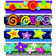"Carson-Dellosa Pop it Decorative Border, 36"" x 3"", Grades PreK to 8"