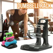 Lanhui Portable Home 3 Tier Dumbbell Holder Home Gym Exercise Weight Tower