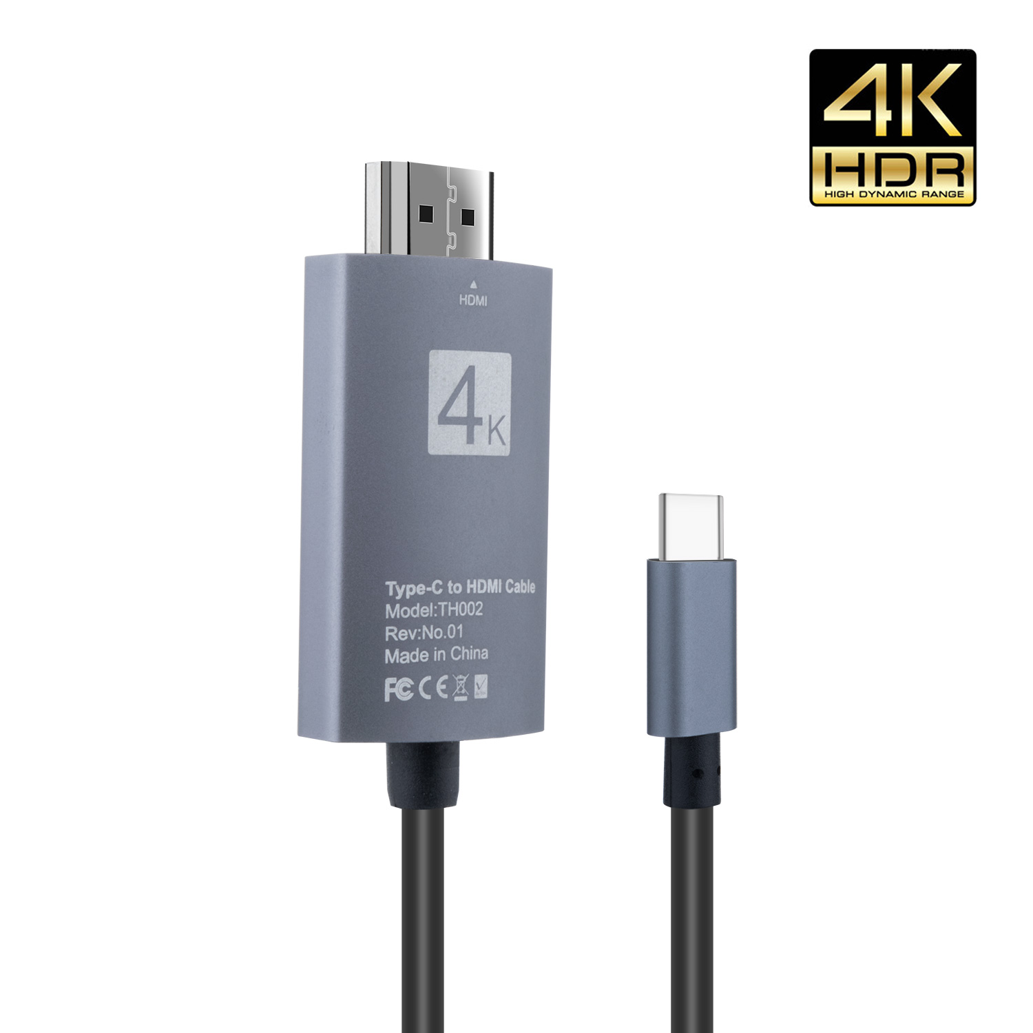 Surface Book 2 USB C to HDMI Cable Adapter,USB Type-C to HDMI 4K Cable for MacBook Pro 2018//2017 Samsung Galaxy S9//S8 Dell XPS 13//15 Pixelbook More