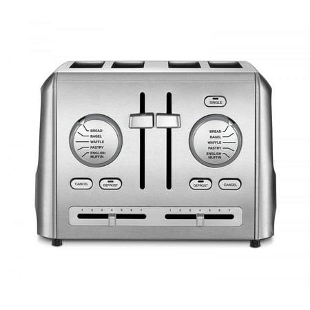 Cuisinart 4 Slice Toaster, Stainless Steel ()
