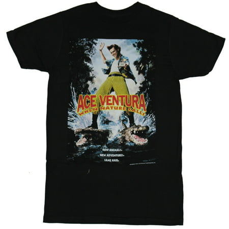 Ace Ventura Mens T-Shirt - When Nature Calls Movie Poster Image](Ace Ventura Outfit)