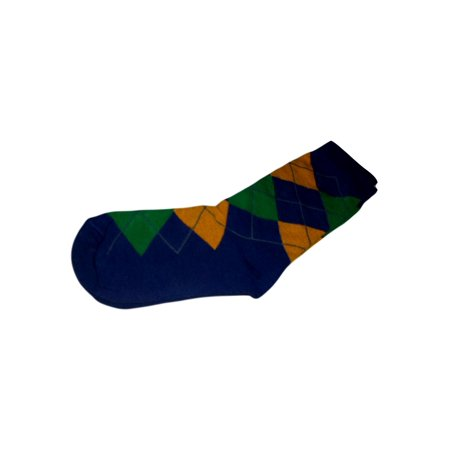 Mardi Gras Purple Green Yellow Ladie's Argyle Socks One Size](Mardi Gras Socks)