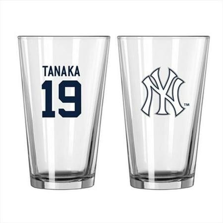 Boelter MLB New York Yankees Baseball n - 19 Masahiro Tanaka Pinte Verre - image 1 de 1