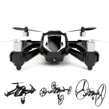 Cheerwing U841-1 3D Flip 2.4Ghz RC Quadcopter Drone Car with 2MP HD Camera 6-Axis Gyro (Rc Car With Camera)