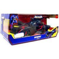 Batman: The Brave and the Bold Batmobile Vehicle - Top Opens - Driver's seat holds basic or deluxe action figures